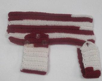 Pet Sweater, Medium/Large, Crocheted
