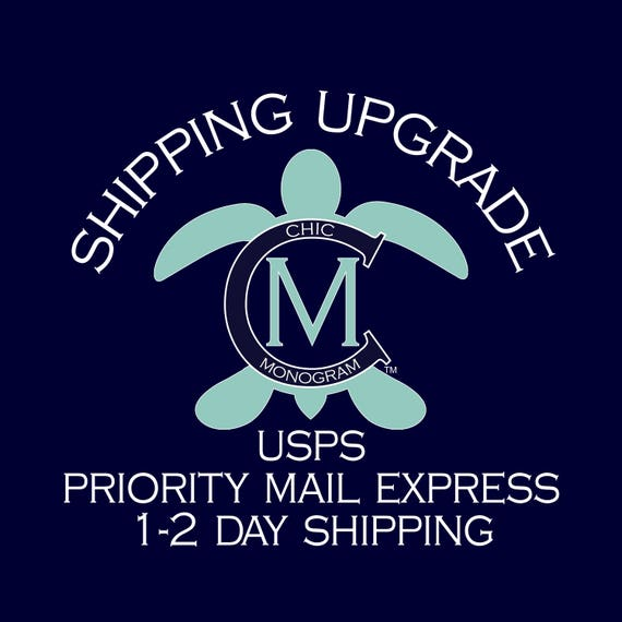 Shipping Upgrade to USPS Priority Mail Express 1-2 Day