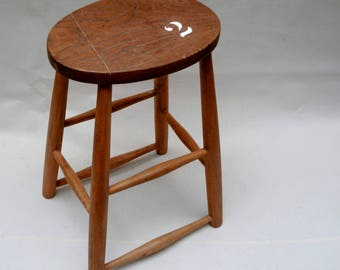 Wooden Stool Cafe Stool Bar stool