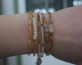 Set of Bracelets (Quartz)