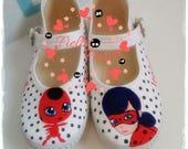 miraculous ladybug, lady bug, ladybug shoes, ladybug, catnoir shoes, cat noir, Miraculous lady bug, miraculous ladybug
