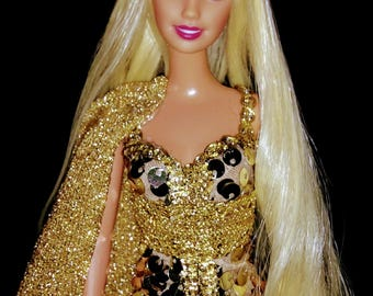 Tyche Greek Goddess of Fortune Luck Fate & Destiny ~Barbie doll OOAK