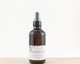 WANDERLUST Air and Linen Mist, Room Spray, Freshener | Gift