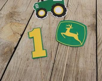John Deere Birthday Inspired- Tractor - Centerpiece Bundle