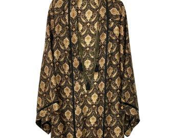 Kimono jacket, silk robe, silk kimono, kimono robe, silk kimono robe, silk kimono jacket, kimono robes, black silk kimono, silk robes