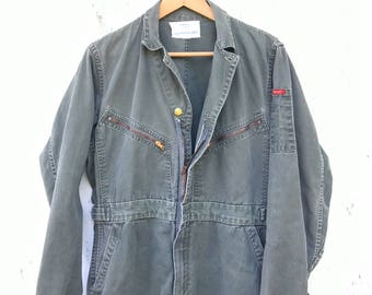 50s Coveralls Big Smith Workwear Vintage 40s 50s Mechanic Jumsuit