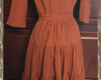 Vintage (from the 1940's) Squaw or Patio Dress