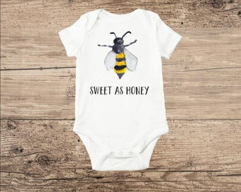 Honey Bee Baby Clothes Sweet As