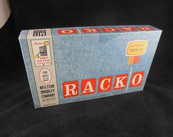 Vintage RackO Game - Excellent condition - From 1960's