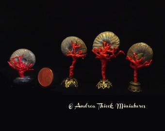Miniature Ammonite  on a Stand - choose one