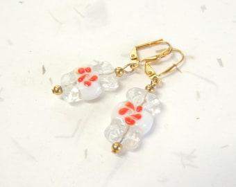Christmas Candy Earrings, Winter Earrings, Christmas Earrings, Holiday Earrings, Christmas Jewelry, Holiday Jewelry, Gift Idea