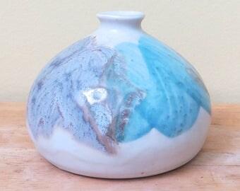 Vintage Kravec Studio Pottery Bud Vase