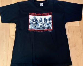 Vintage Homeland Security T Shirt