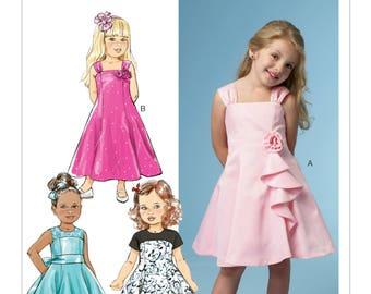 5980, BP303, Butterick, Girl's Dress, Special Occasion, Formal Dress, Flower Girl Dress, Easter Dress, Princess Dress, Christmas Dress,