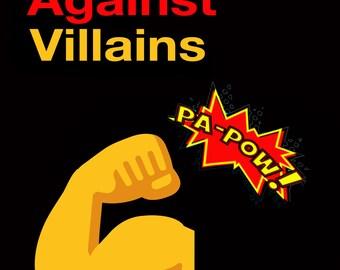 Heroes Against Villains ! 20 Heroic Cards