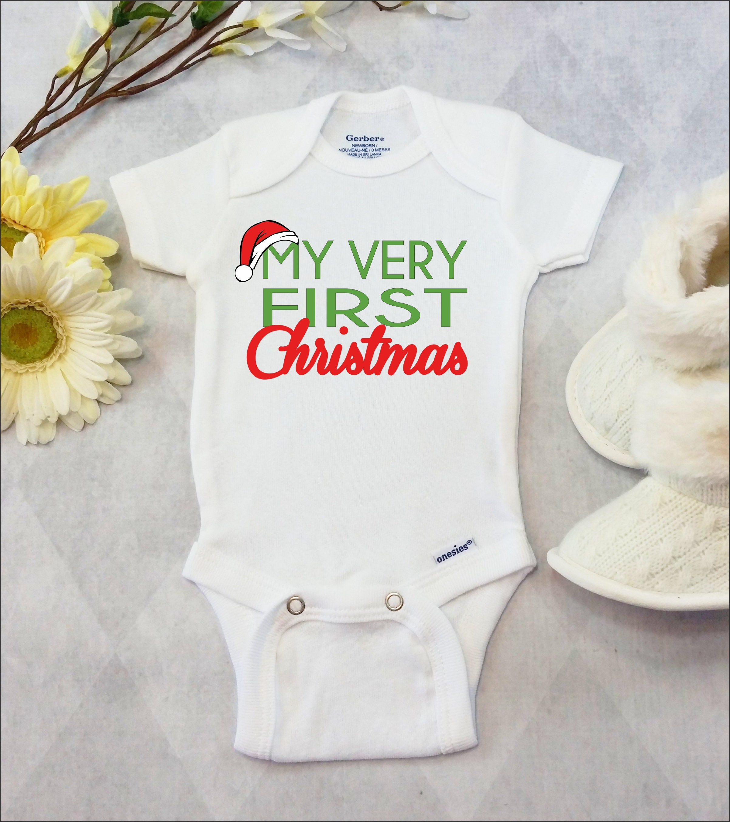 brand bodysuit newborn baby boy baby girl christmas outfit cute baby clothes