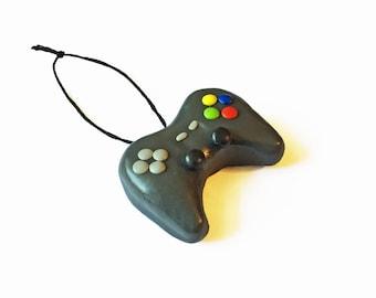 Video Game Ornament - Game Controller Ornament - Remote Ornament - Video Game Gift - Gaming Ornament - Christmas Ornament