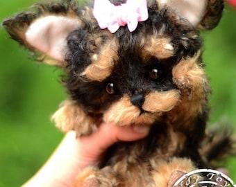 Puppy Lina , Teddy York ,Toy ,Terrier ,dog ,plush dog,plush toy,teddy