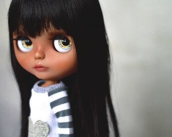Custom Blythe Doll, Licca body, Genuine Takara