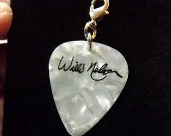 Willie Nelson Signature Guitar Pick Charm