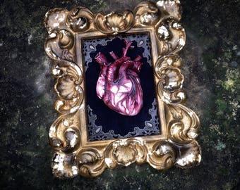 Heart romantic gothic art