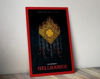 Hellraiser Clive Barker Movie Poster Print Hellbound Heart