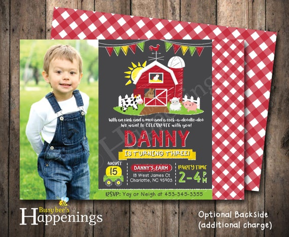 farm birthday invitation farm birthday farm invitation farm, Birthday invitations