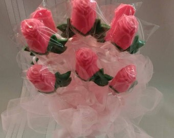 Bouquet of 1 Dozen Chocolate Roses