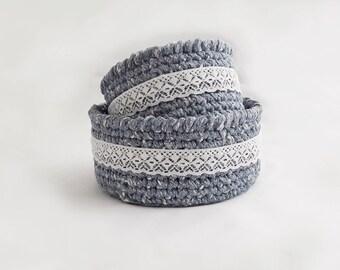 Small crochet basket | Etsy