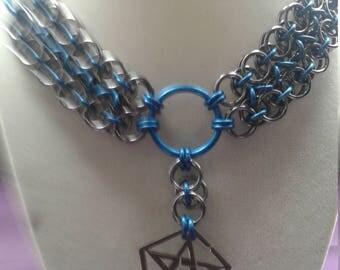 Teal pentagram