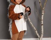 Sonderanfertigung Halloween Grüffelo Kostüm, Die wilden Kerle, Kinderkostüm, Monster,