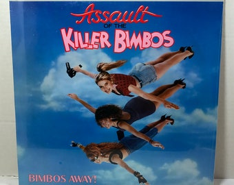 SEALED Assault Of The Killer Bimbos Soundtrack vinyl record 1988 Motion Picture Various Artists New Wave