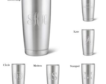 Monogrammed Thermos Etsy