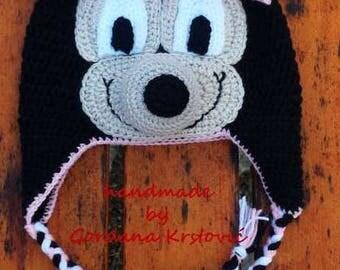 Minnie mouse hat,Minnie mouse cartoon,cartoon hat,crochet hat,crochet Minnie,crochet mouse,Minnie mouse crochet,characters hat,crazy hat