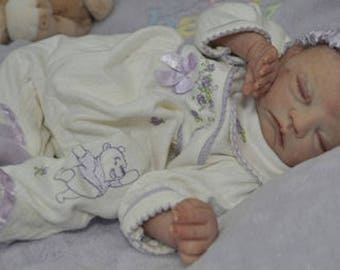 "NIP-Long Discontinued Toby Morgan ""Piper"" Preemie Reborn Doll KIT. Comes with a COA."