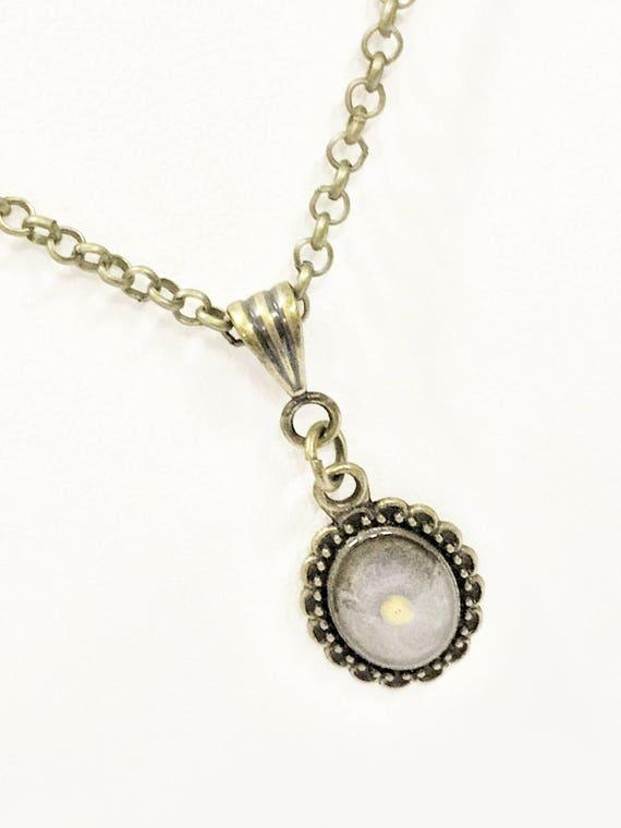 Mustard Seed Necklace, Antique Brass Mustard Seed Necklace, Mustard Seed Jewelry, Christian Gifts, Mustard Seed Faith, Christian Jewelry