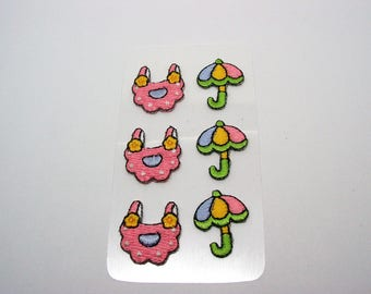 Stickers woven pattern baby stickers