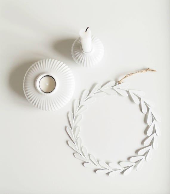 ahoj 2012 dekokranz bl tter kranz adventskranz. Black Bedroom Furniture Sets. Home Design Ideas