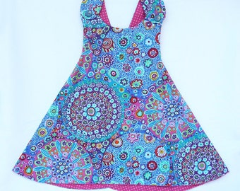 Ready to ship!  A Mother's dream! Size 2T Reversible Dress
