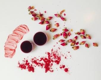 Beet & Rose Lip stain / Lip tint / Lip and cheek stain / Vegan makeup / Natural makeup / Organic makeup / Cruelty free makeup /