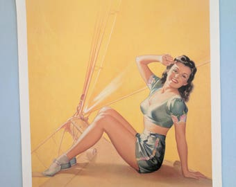 Keep 'em Flying 1940's style 20 x 16 pinup poster