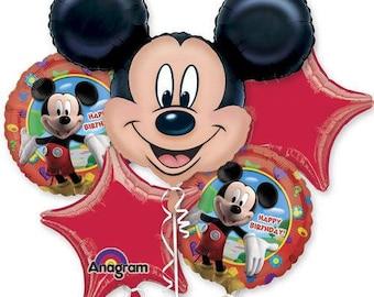 Mickey Mouse Bouquet balloon / Mickey theme party / balloons/ mickey mouse balloons/