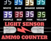 Light Sensor Ammo Counter kit, Mk3