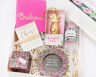 Bridesmaid Box, Bridesmaid Gift, Gift for Bridesmaid Maid of Honor Matron of Honor, Gift for Bridal Party, Will you be my Bridesmaid Gift