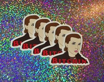 Stranger Things Eleven Vinyl Sticker
