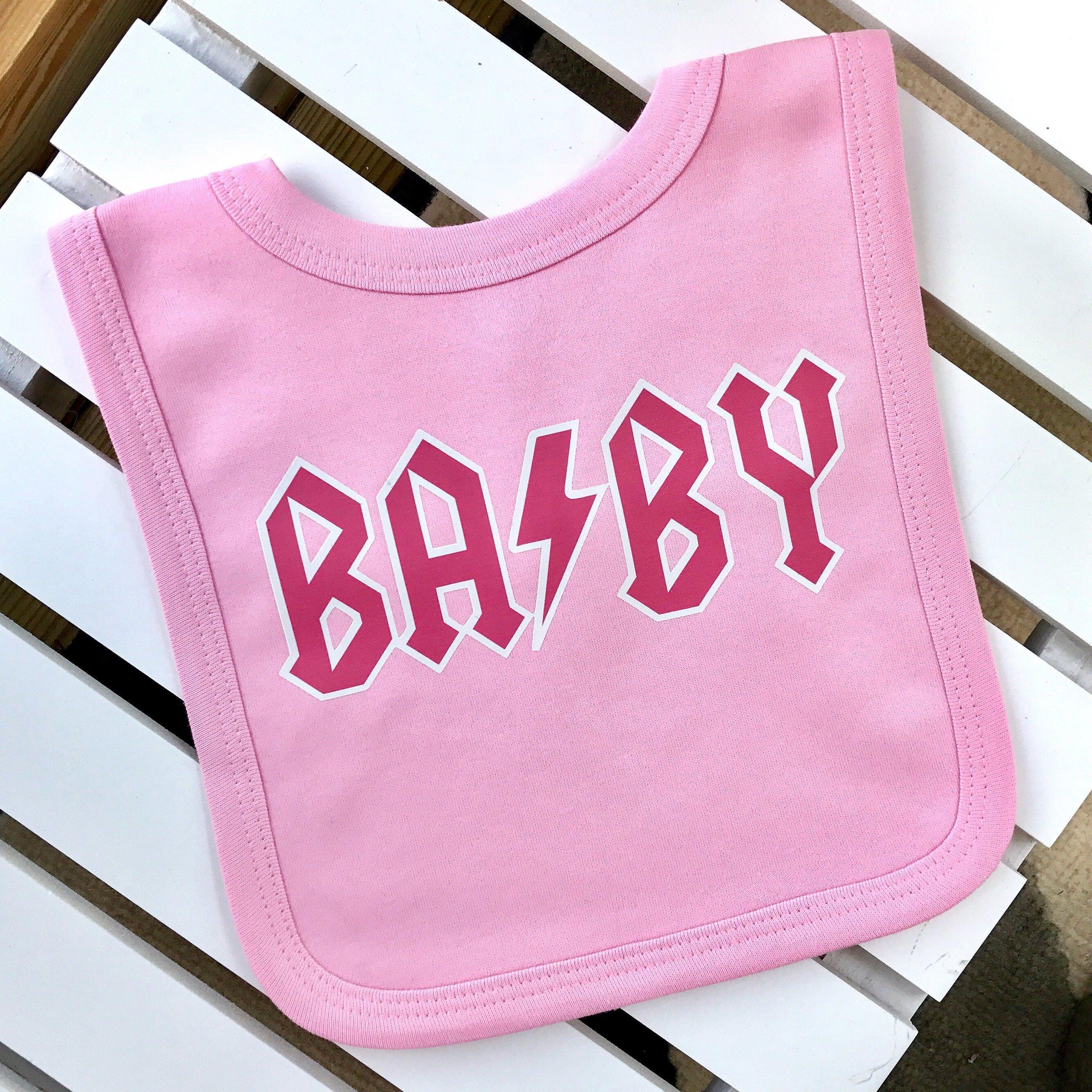 Rock Themed BABY Bib Kid Rock Clothes Alternative Baby
