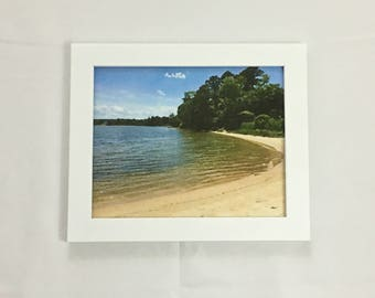 Coastal Wall Art, Watercolor, Beach Decor, Landscape Photography, Housewarming Gift, 8x10 Print, 11x14 Print, 16x20 Print, Soothing Wall Art
