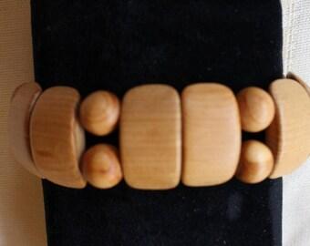 wooden jewelry- bracelet