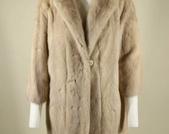 Vintage Fur Overcoat by Fur Couture of Beverly Hills