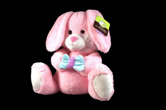 Stuffed Animal, Bunny, Animal Adventure, Pink, Fluffy, Soft, Easter Bunny, Shower Gift